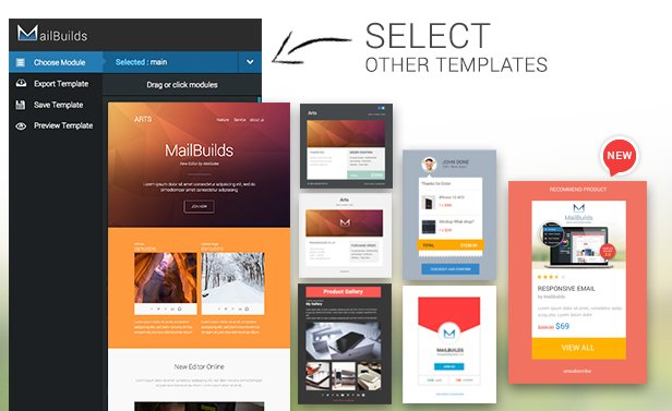Arts - Responsive Email + Templatebuilder Access